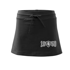 Narozeninový motiv - znak - 1950 - Sportovní sukně - two in one
