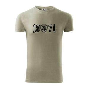 Narozeninový motiv - znak - 1971 - Replay FIT pánské triko