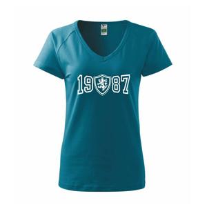 Narozeninový motiv - znak - 1987 - Tričko dámské Dream