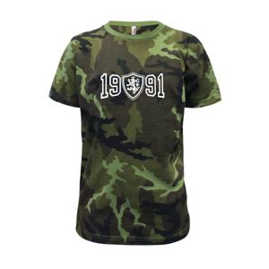 Narozeninový motiv - znak - 1991 - Dětské maskáčové triko