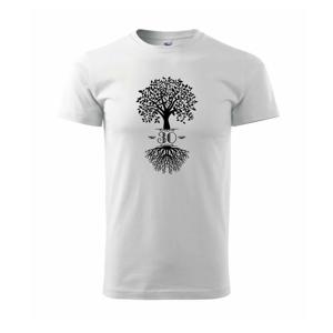 Narozeninový strom 30 - Triko Basic Extra velké