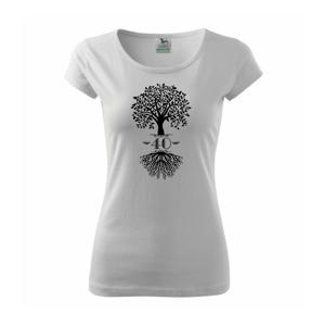 Narozeninový strom 40 - Pure dámské triko