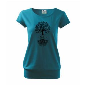 Narozeninový strom 80 - Volné triko city