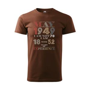 Narozeniny experience 1949 may - Heavy new - triko pánské