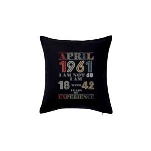 Narozeniny experience 1961 April - Polštář 50x50