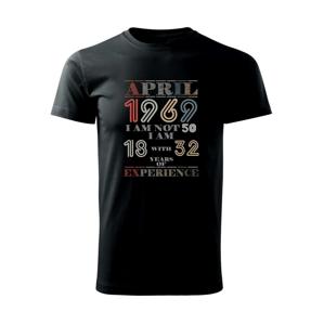 Narozeniny experience 1969 april - Triko Basic Extra velké