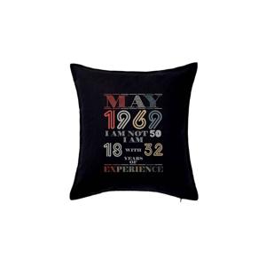 Narozeniny experience 1969 may - Polštář 50x50
