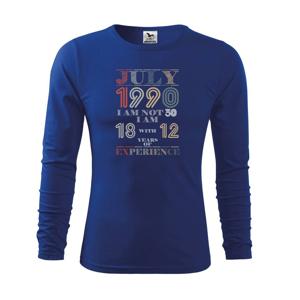 Narozeniny experience 1990 july - Triko dětské Long Sleeve