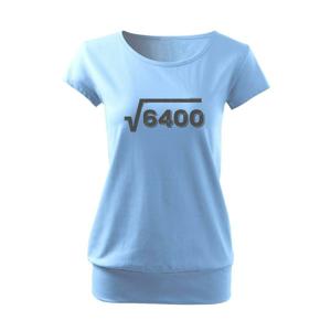 Narozeniny odmocnina 80 - Volné triko city