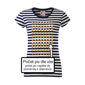 Narozeniny - počet piv dle vás - Sailor dámské triko
