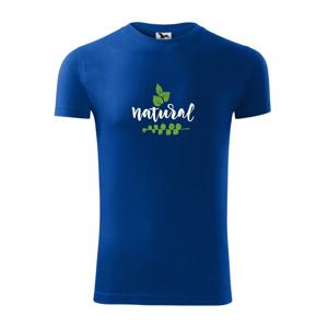Natural - nápis v listech - Viper FIT pánské triko