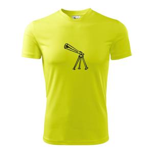 Nebe - Dalekohled - Pánské triko Fantasy sportovní (dresovina)