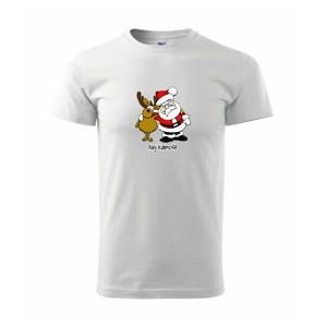 Nej kámoši - Santa a sob - Heavy new - triko pánské