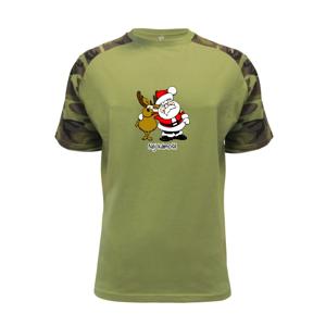 Nej kámoši - Santa a sob - Raglan Military