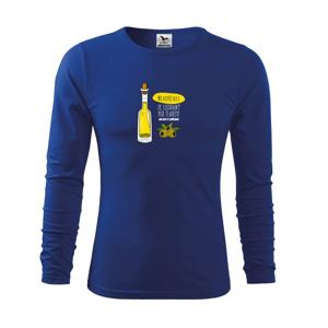 Nejlepší olej je lisovaný pod tlakem - Triko s dlouhým rukávem FIT-T long sleeve