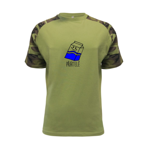Nejlepší přátelé - Sušenka a mléko - Raglan Military