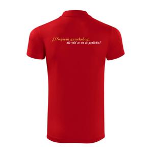 Nejsem gynekolog-zlatá - Polokošile Victory sportovní (dresovina)