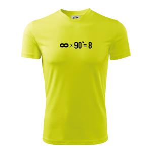 Nekonečno matematika - Dětské triko Fantasy sportovní (dresovina)