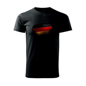 Německá vlajka okousaná - Heavy new - triko pánské