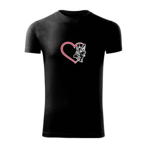 Německý ovčák v srdci - Viper FIT pánské triko