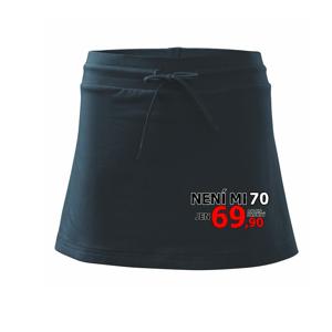 Není mi 70 - Sportovní sukně - two in one