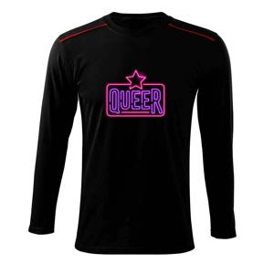 Neon sign queer - Triko s dlouhým rukávem Long Sleeve
