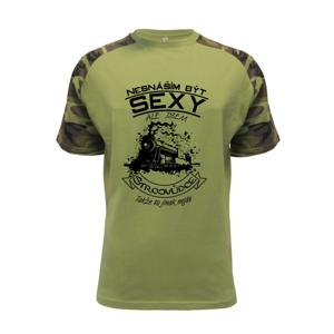 Nesnáším být sexy - strojvůdce - Raglan Military