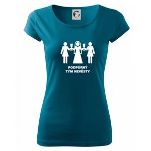 Nevěsty podpůrný tým - Pure dámské triko