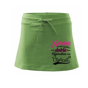 Nežárli - 40 - Sportovní sukně - two in one