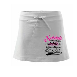 Nežárli - 50 - Sportovní sukně - two in one