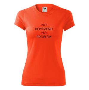 No boyfriend no problem - Dámské Fantasy sportovní (dresovina)