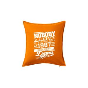 Nobody is perfect - 1987 - Polštář 50x50
