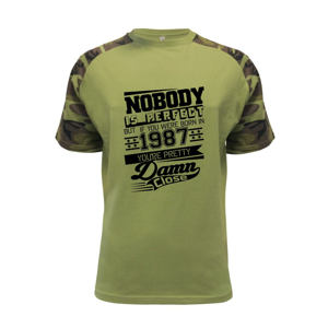 Nobody is perfect - 1987 - Raglan Military