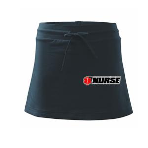 Nurse kříž - Sportovní sukně - two in one