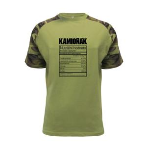 Nutriční hodnoty - Kamioňák - Raglan Military