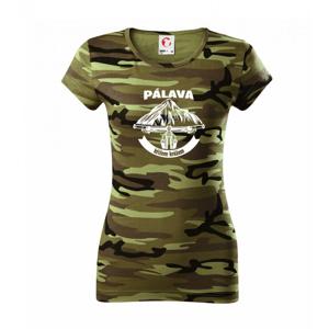 Pálava křížem krážem - Dámské maskáčové triko