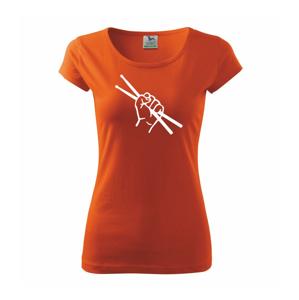 Paličky ruka - Pure dámské triko