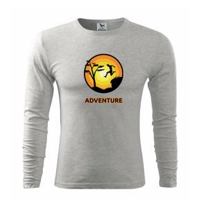 Parkour adventure - Triko s dlouhým rukávem FIT-T long sleeve