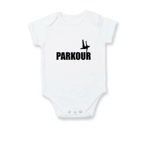 Parkour - na jedné ruce - Body kojenecké