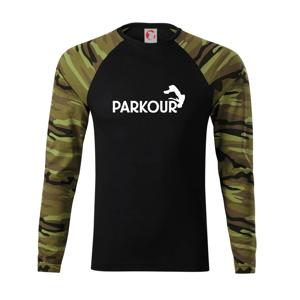 Parkour - salto - Camouflage LS