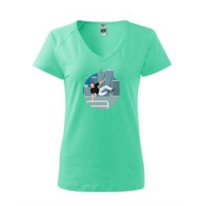 Parkour ve městě - Tričko dámské Dream