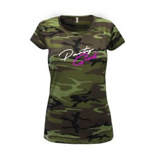 Party Girl - Dámské maskáčové triko