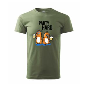 Party hard ptáci - Heavy new - triko pánské