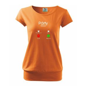 Party volá - Volné triko city