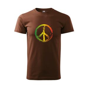 Peace symbol paint - Heavy new - triko pánské