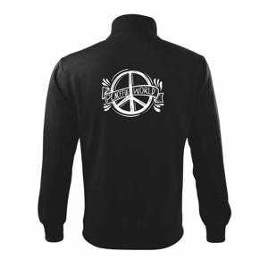 Peaceful world logo - Mikina bez kapuce Adventure