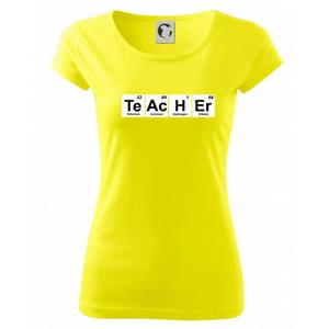 Periodická tabulka - Teacher - Pure dámské triko