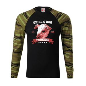 Pig grill - Camouflage LS