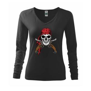 Pirát s bambitkou - Triko dámské Elegance