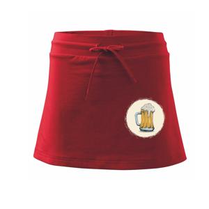 Pivečko ke grilu - Sportovní sukně - two in one